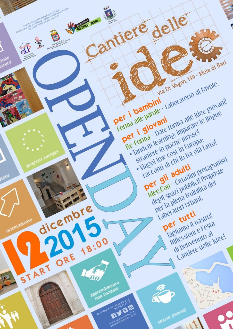 Open day - Locandina