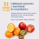 CAID 2016.03.11 Fabbisogni energetici e nutrizionali in età pediatrica