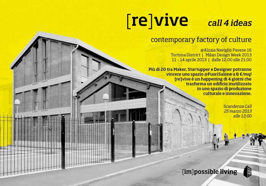 [re]vive | call 4 ideas