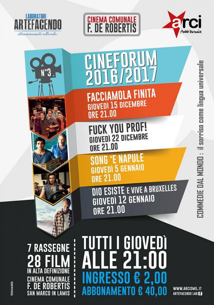 CINEFORUM ARTEFACENDO: commedie dal mondo