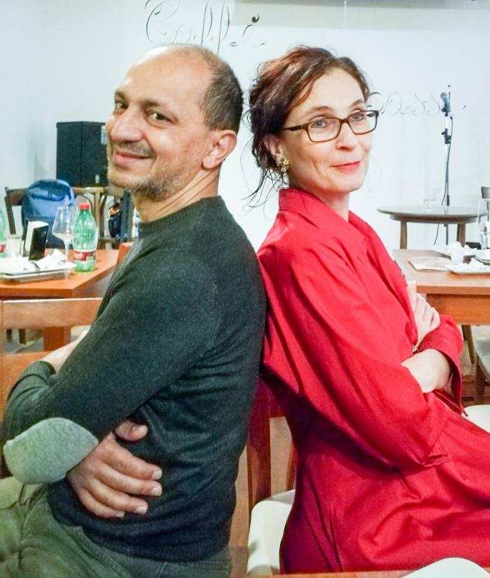 12 maggio 2017 - Recital TO BE OR NOT TO BE…BOP!!! con Andrea Gargiulo e Silvana Kühtz al Fondo Verri di Lecce