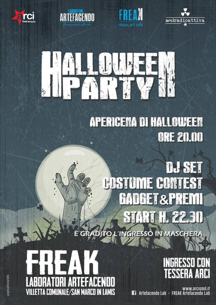 ARTEFACENDO: halloween party