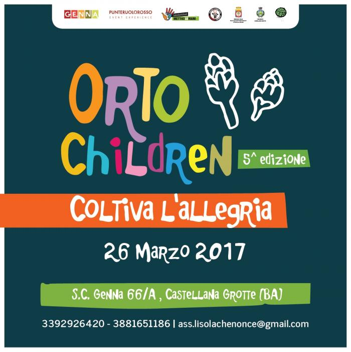 ORTO CHILDREN – coltiva l'allegria