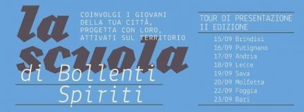 Scuola di Bollenti Spiriti: continua il tour di presentazione