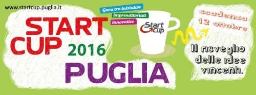 Start Cup Puglia 2016 è on line!