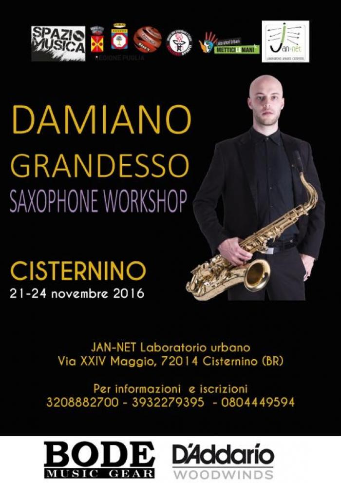 Damiano Grandesso Saxophone Workshop